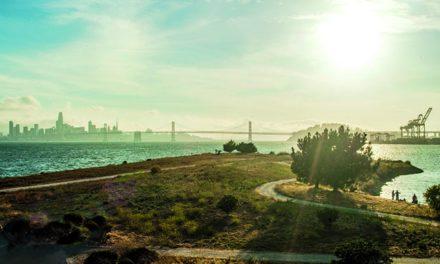 Sundown for an Era on San Francisco Bay