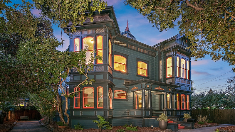 Fanciful Flair in a Storied Victorian