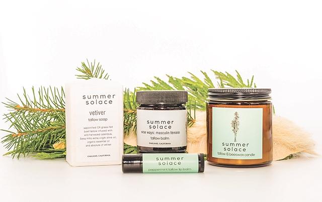 Summer Solace Tallow Treats Skin Naturally