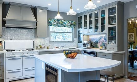 Italianate Touches Enhance an Alameda Kitchen