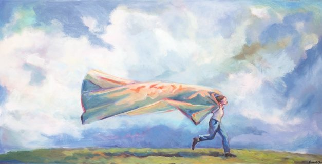 Artist Carol Aust Contemplates in Hues