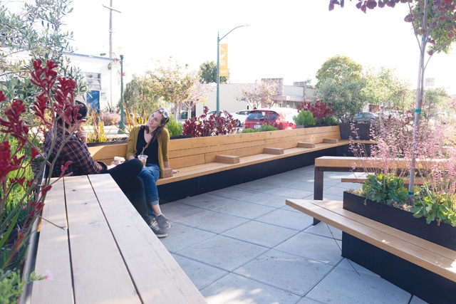 East Bay Parklets Are Good for Hanging Out