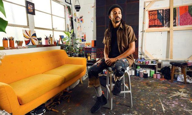 Community, Friends Inspire Artist Muzae Sesay