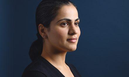 Aisha Wahab Makes History
