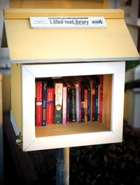 Free Little Libraries take off in the East Bay.