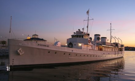 Our USS Potomac Cruise